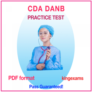 DENTAL ASSISTANT Practice Test