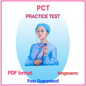 Patient Care Technician Exam (PCT) Practice Test