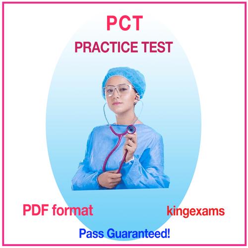 Free Patient Care Technician practice exam pct exam questions practice test PATIENT CARE TECHNICIAN exam PCT practice test CPTC CERTIFICATION PDF QUESTIONS