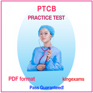 PHARMACY TECHNICIAN CERTIFICATION BOARD Practice Test