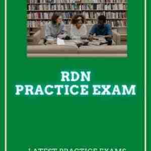 RDN Practice Test 2021