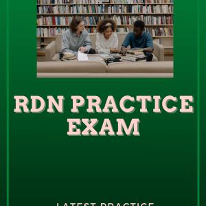 registered dietitian nutritionist exam rdn practice test 2021
